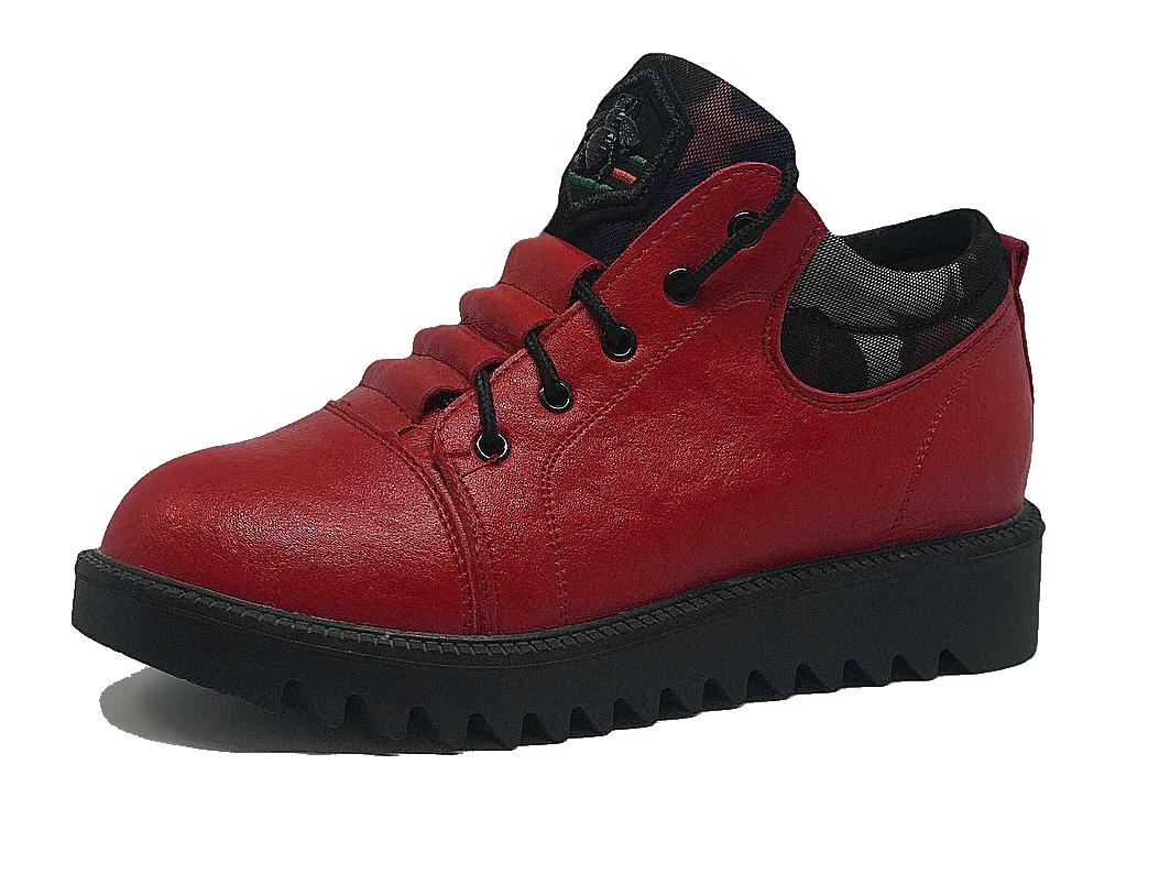 Женские кроссовки красные 36 размер