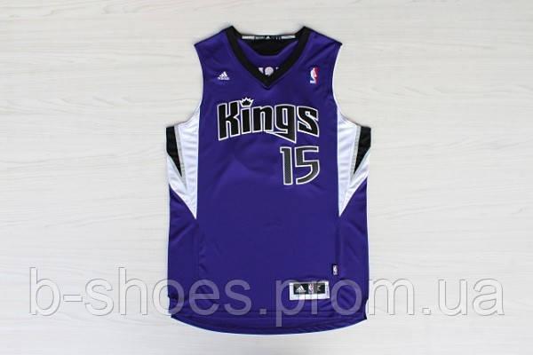 Мужская баскетбольная майка Sacramento Kings (DeMarcus Cousins) Purple