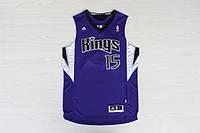 Мужская баскетбольная майка Sacramento Kings (DeMarcus Cousins) Purple, фото 1