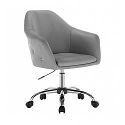 Парикмахерское кресло для клиентов, Кресло мастера НС 547К серый