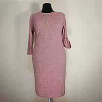 Платье женское большого размера 54 весна (56, 58, 60, 62) батал для полных женщин №310