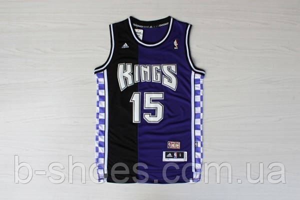 Мужская баскетбольная майка Sacramento Kings Retro (DeMarcus Cousins) Purple