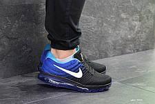 Мужские кроссовки в стиле Nike Air Max 2017 Синие, фото 3