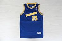 Мужская баскетбольная майка Golden State Warriors Retro (Latrell Sprewell) Blue, фото 1