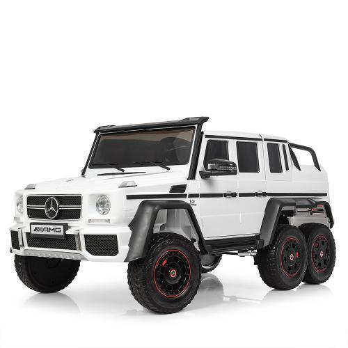 Детский электромобиль Джип M 3971EBLR-1 белый