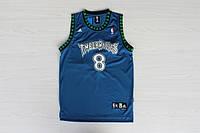 Мужская баскетбольная майка Minnesota Timberwolves Retro (Latrell Sprewell) Blue, фото 1