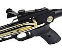 Арбалет пистолетного типа Man Kung 80A4AL (длина: 500мм, сила натяжения: 19кг), комплект, алюминий, фото 6
