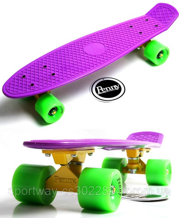 Penny Board. Classic. Violet.