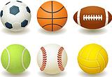 Детские мячи.