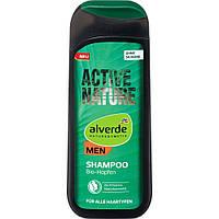 Alverde Shampoo MEN Active Nature Натуральный мужской шампунь 200 мл