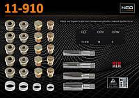 Набор инструмента для восстановления резьбы сливной пробки 64 шт., NEO 11-910