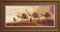 Набор для вышивки крестом «Верблюды»