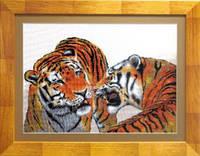Набор для вышивки крестом «Тигры»
