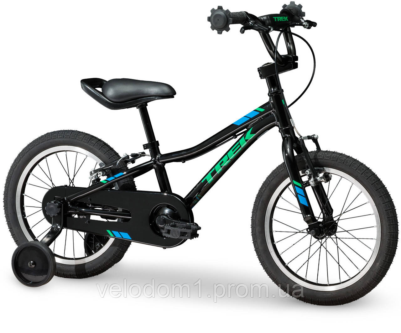 "Велосипед Trek Precaliber 16"" Boys Black 2019"