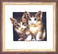 Набор для вышивки крестом «Котята»