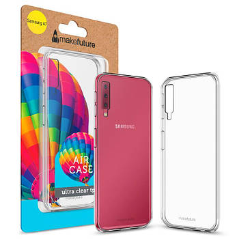 Чехол-накладка MakeFuture Air Case для Samsung A7 (2018) SM-A750 Clear (MCA-SA750CL)