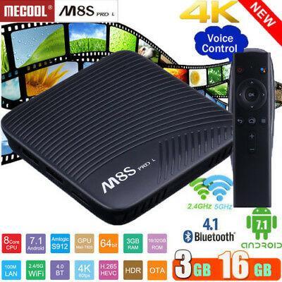 Оригинальная Смарт приставка Месооl М8Ѕ Рrо L 3/16Gb Android Smart TV Box с голосовым управлением