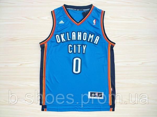 Мужская баскетбольная майка Oklahoma City Thunder (Russell Westbrook) Blue