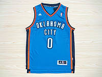 Мужская баскетбольная майка Oklahoma City Thunder (Russell Westbrook) Blue, фото 1