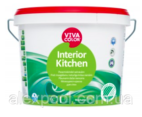 Viva Color Interior Kitchen А 9 л Інтер'єрна напівматова фарба для стін і стель