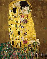 Картина по номерам Menglei Поцелуй в золотой ауре MG1109 40 х 50 см, фото 1