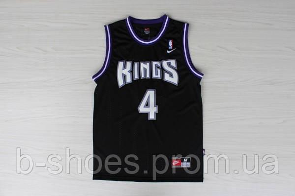 Мужская баскетбольная майка Sacramento Kings Retro (Chris Webber) Black