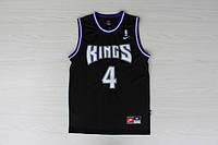 Мужская баскетбольная майка Sacramento Kings Retro (Chris Webber) Black, фото 1