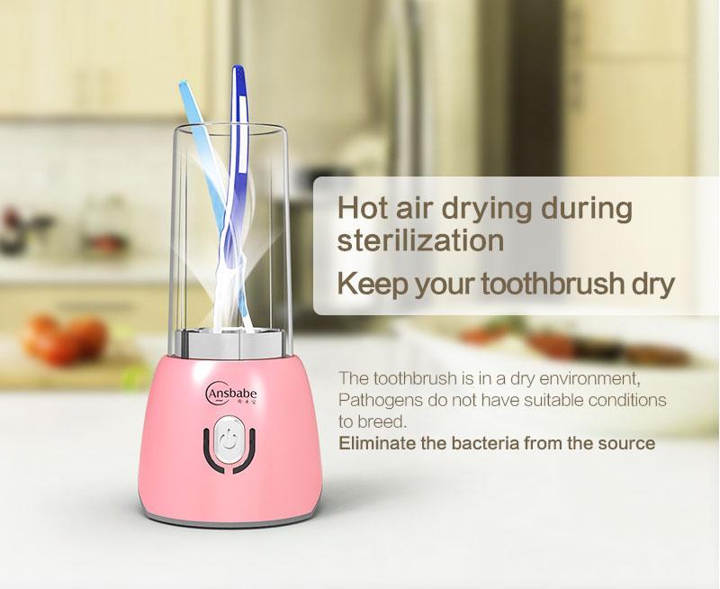 Стериализатор  для зубных щеток Purple Flame Guardian