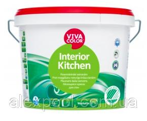 Viva Color Interior Kitchen З 0,9 л інтер'єрна Миюча напівматова фарба для стін і стель