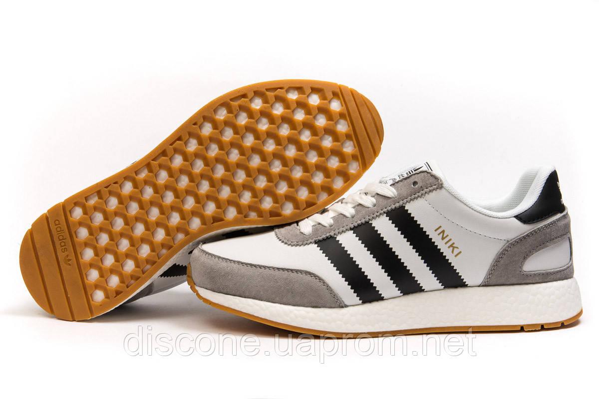 Кроссовки мужские ► Adidas Iniki,  белые (Код: 14885) ►(нет на складе) П Р О Д А Н О!