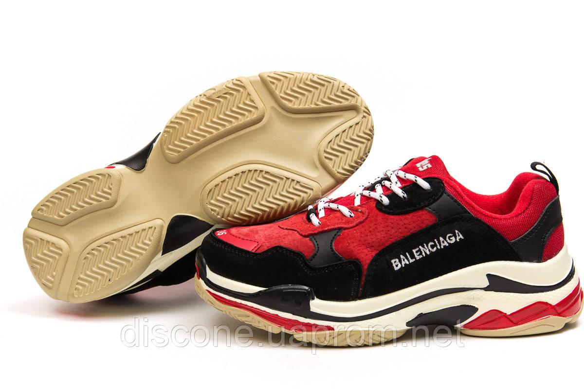 Кроссовки женские ► Balenciaga Triple S,  красные (Код: 14914) ► [  37 38  ] ✅Скидка 37%