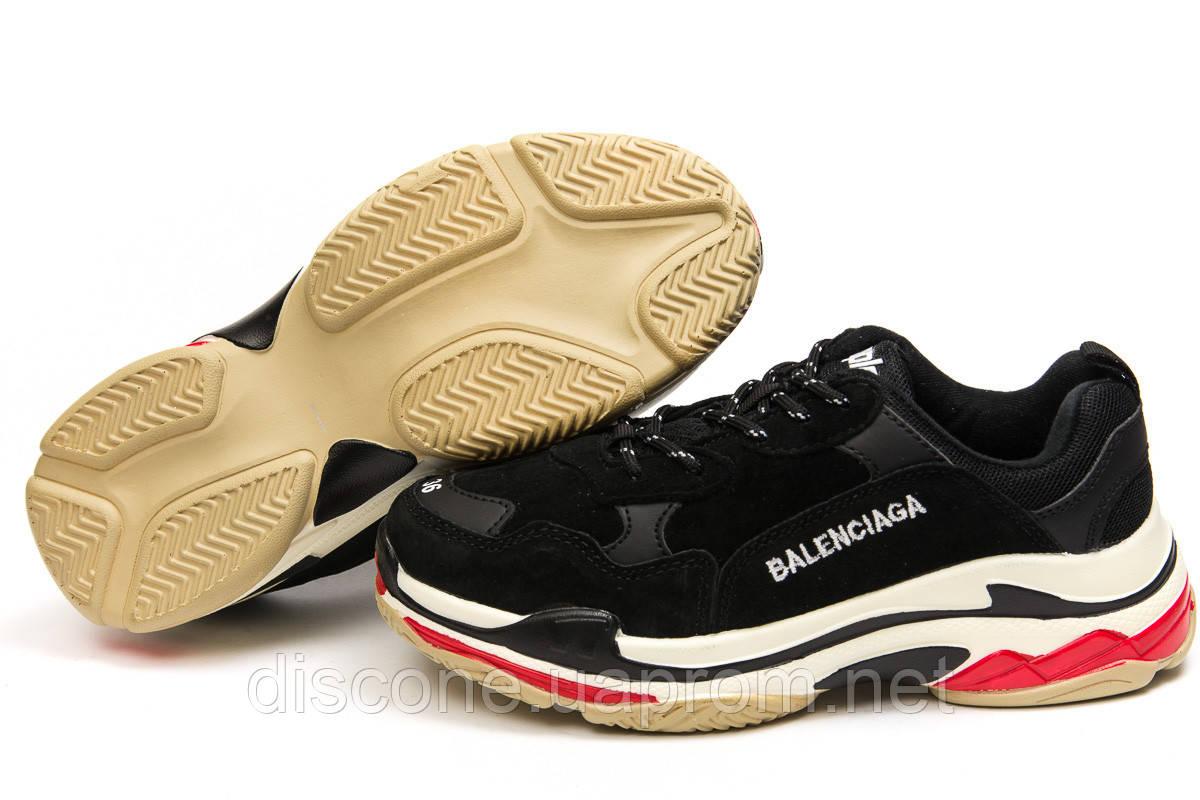 Кроссовки женские ► Balenciaga Triple S,  черные (Код: 14916) ►(нет на складе) П Р О Д А Н О!