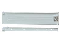 Метабокс 86х300 мм. белого цвета