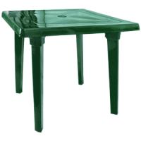 Стол квадратный зеленый Алеана