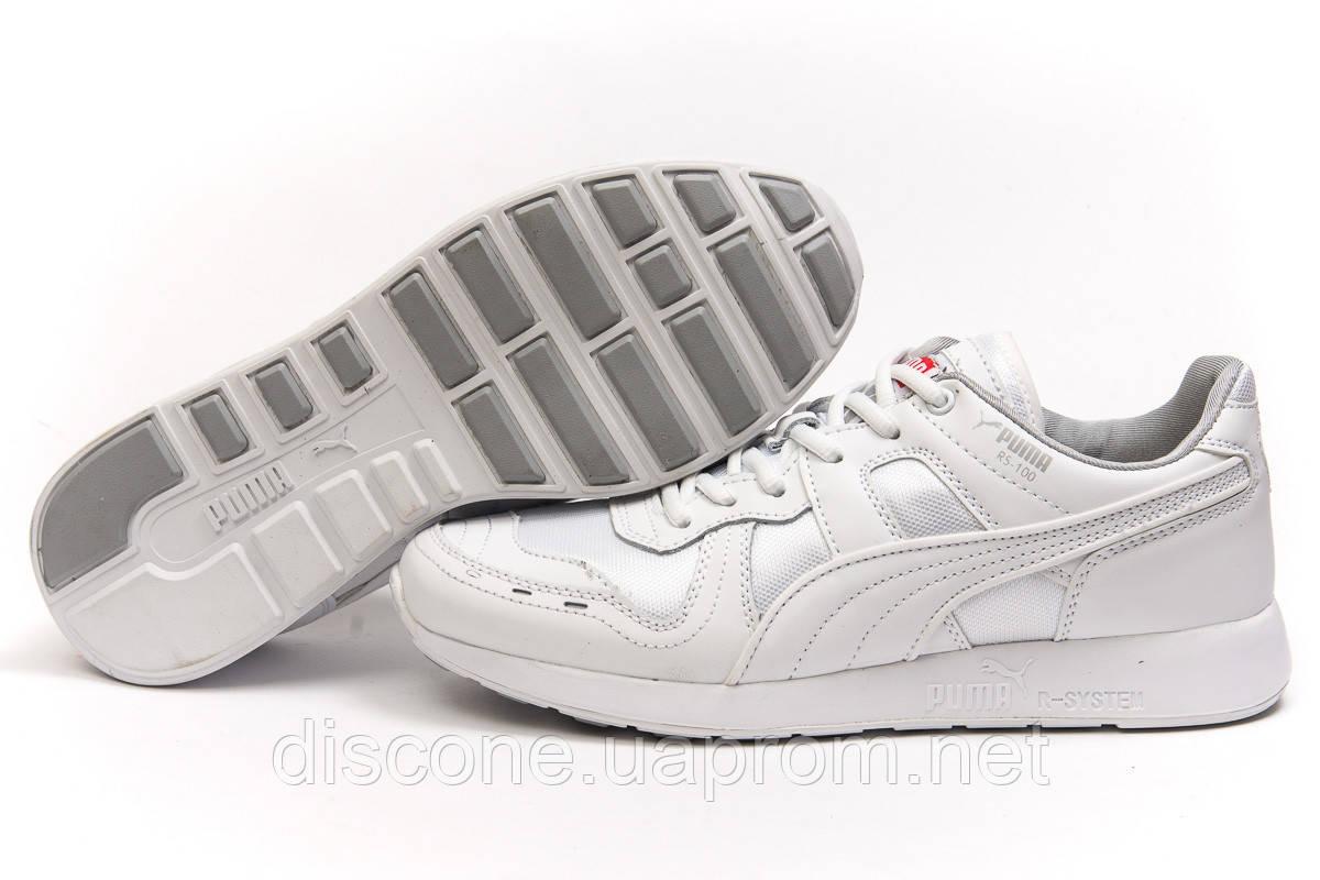 Кроссовки мужские 14932 ► Puma Roland RS-100, белые ✅Скидка 35% ► [ 41 44 ]
