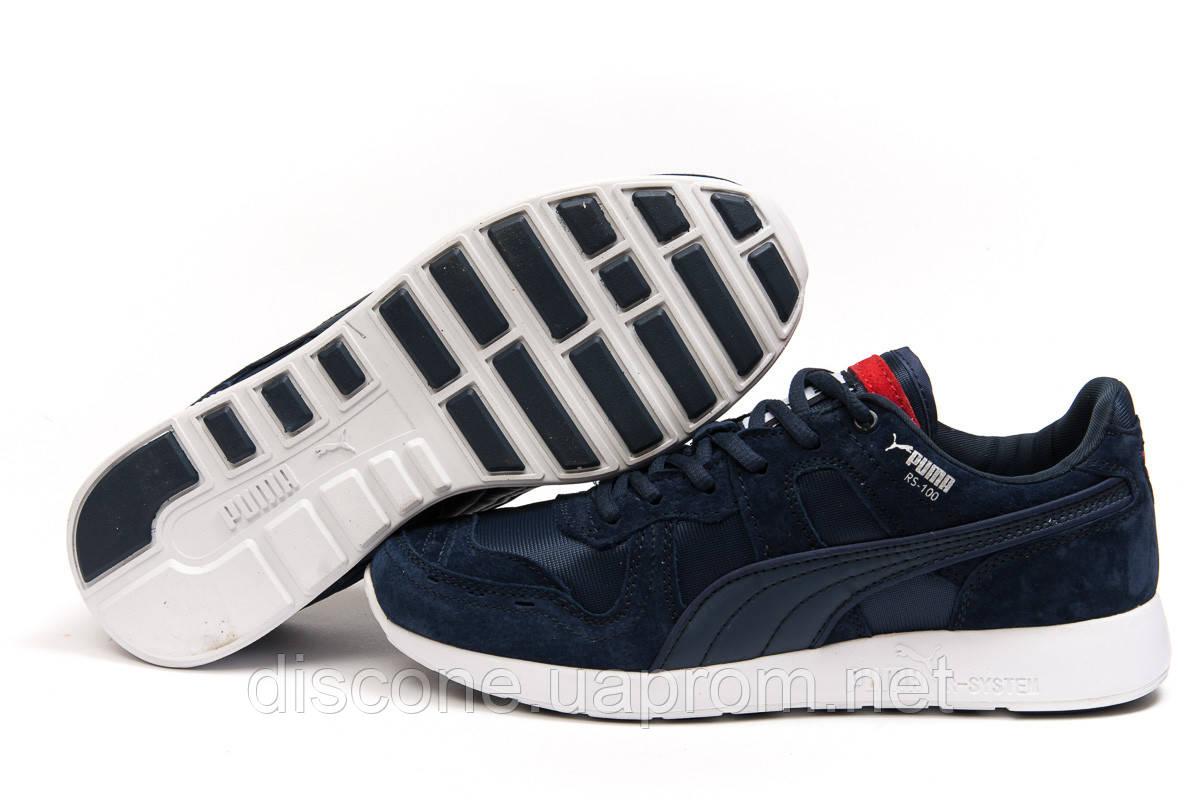Кроссовки мужские 14933 ► Puma Roland RS-100, темно-синие ✅Скидка 35% ► [ 41 ]