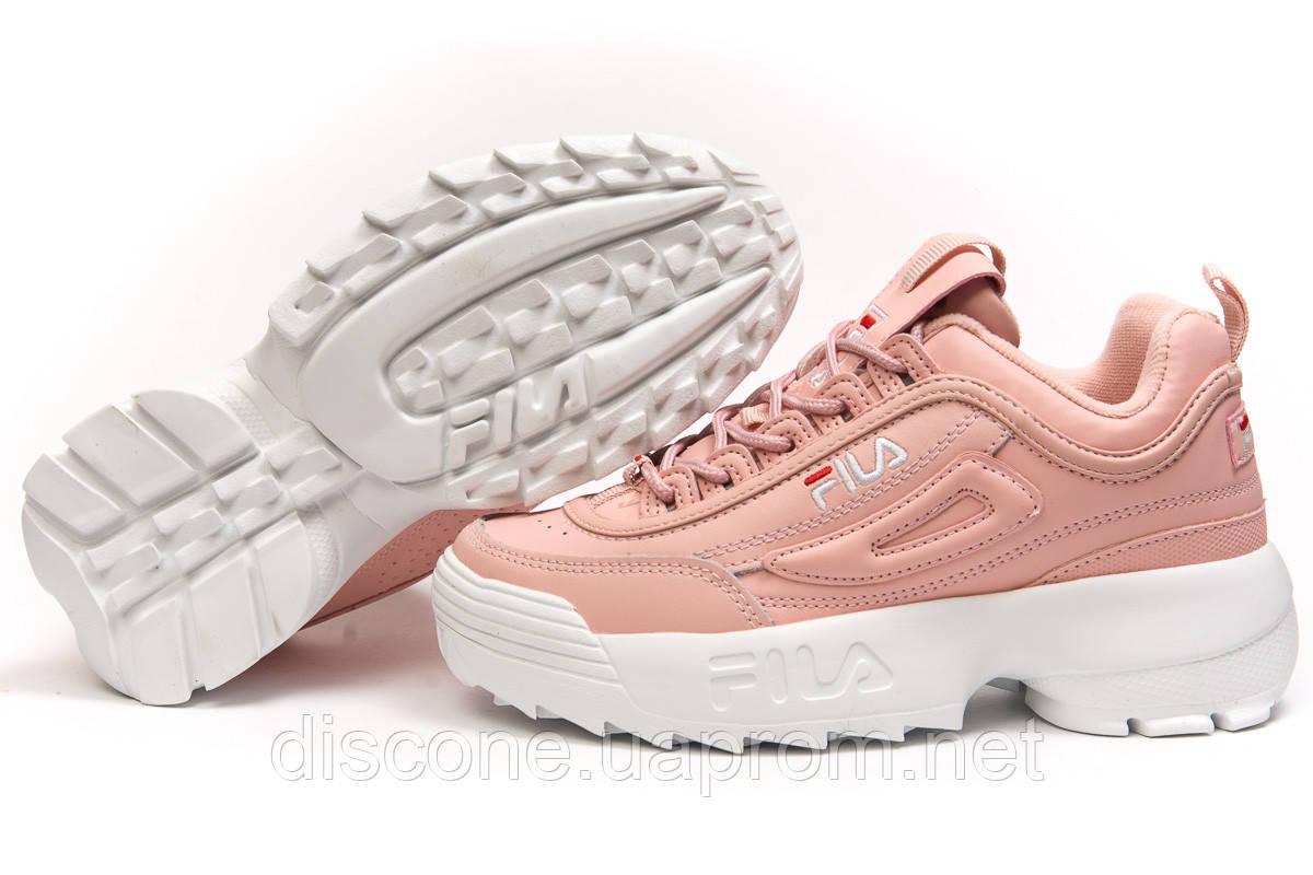Кроссовки женские ► FILA Disruptor,  розовые (Код: 14635) ►(нет на складе) П Р О Д А Н О!