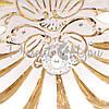 Фигурка фарфоровая Италия, ручная работа «Раковина Барокко» Sabadin, h-20 см (45402s), фото 3