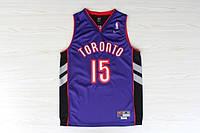 Мужская баскетбольная майка Toronto Raptors Retro (Vince Carter) Purple, фото 1