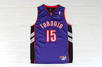 Мужская баскетбольная майка Toronto Raptors Retro (Vince Carter) Purple