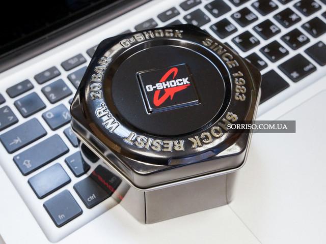 Металлическая коробка G-Shock, банка, подарочная, мужские