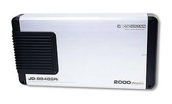 Звуковий підсилювач Boschmann JD-8848SRi Підсилювач 4-х канальний гучності 2000 вт в машину акустика