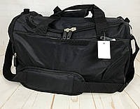Небольшая спортивная сумка без логотипа с отделом для обуви. Раз.44*26*21см КСС28