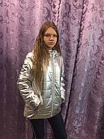 Модная демисезонная куртка для девочки 6,10 л