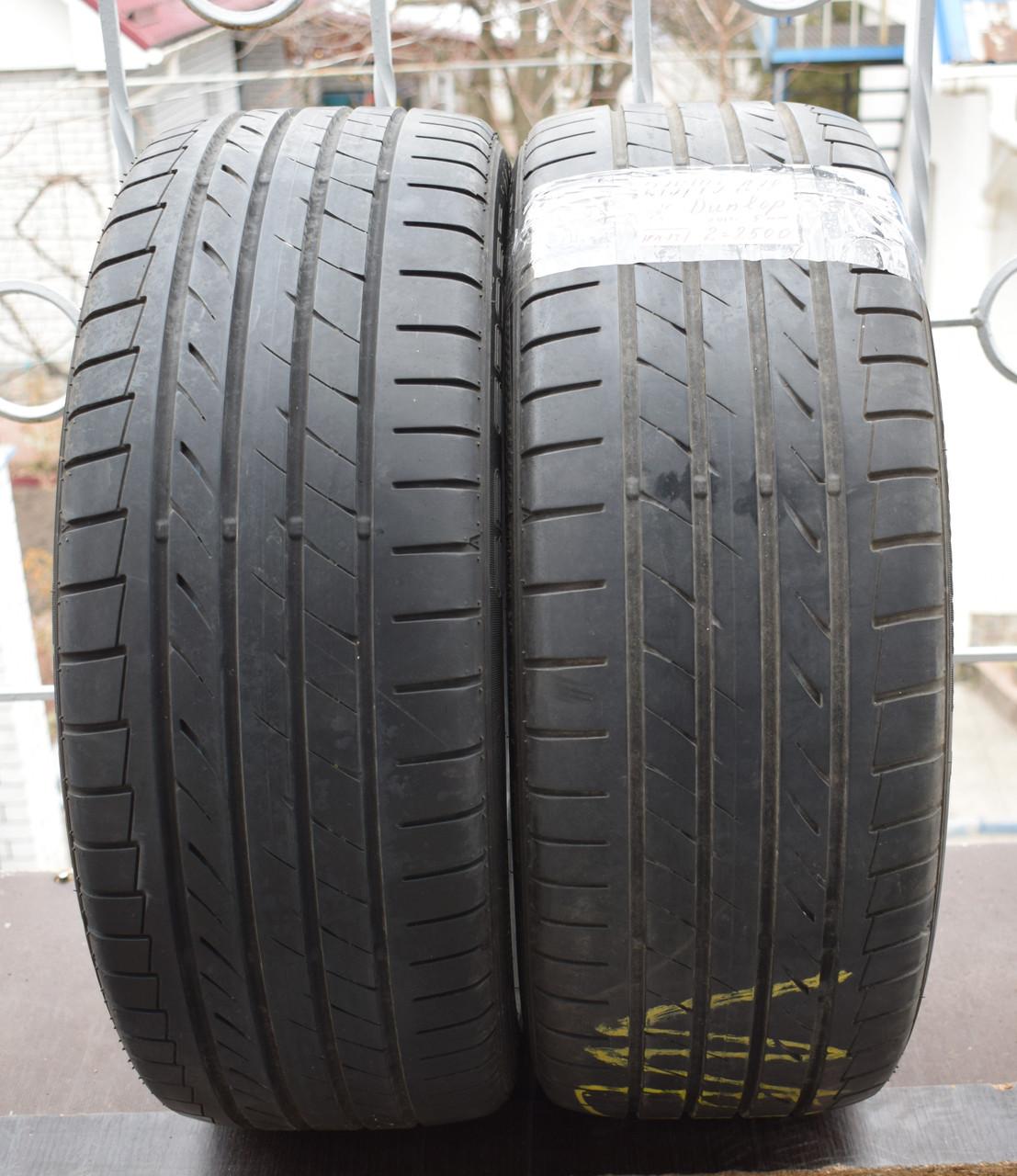 Летние шины б/у 215/45 R18 Dunlop SP Sport Maxx TT, пара