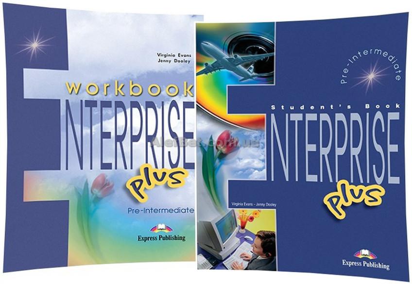 Английский язык / Enterprise / Course+Workbook. Учебник+Тетрадь (комплект), Plus / Exspress Publishing