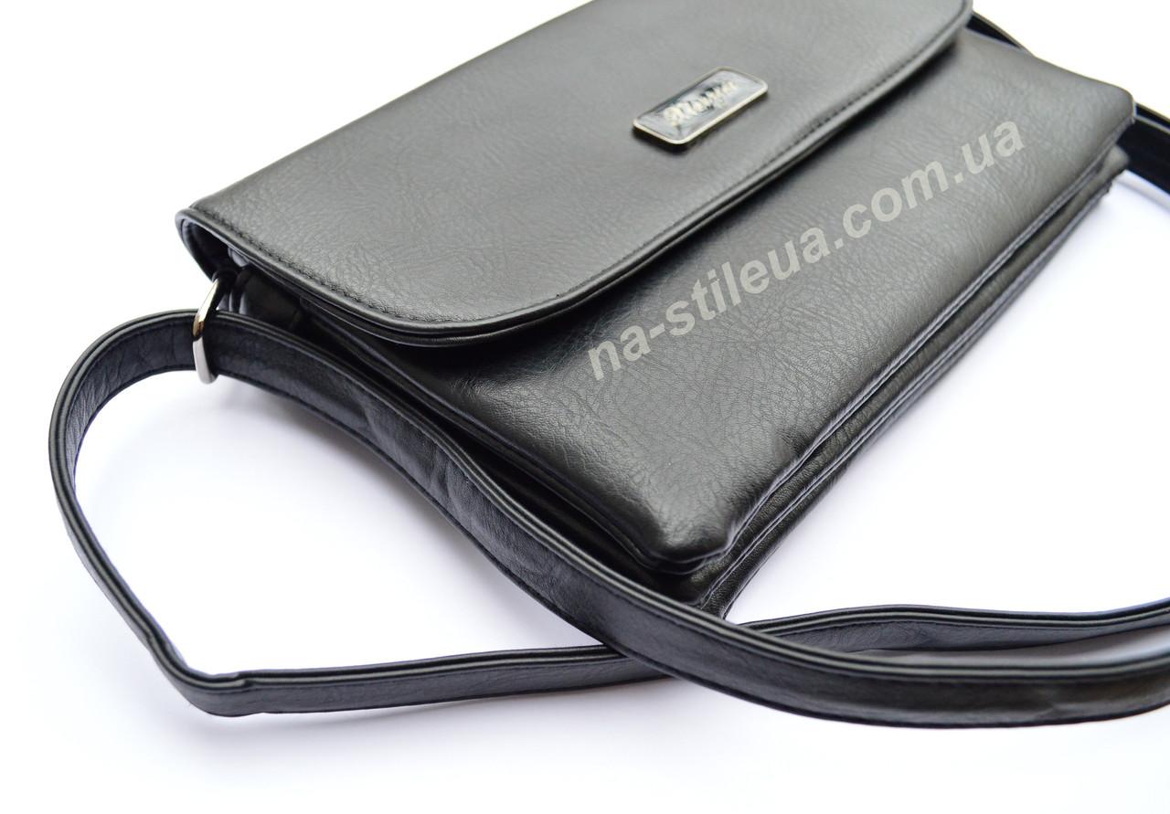 b81aaf55094e ... Женский кожаный клатч мини сумка кошелек шкіряна через плечо Мишель, ...