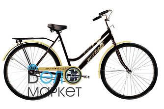 """Велосипед Сrossride Comfort D 28"""" / Міський / Гібрид (Коричневий)"""