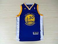 Мужская баскетбольная майка Golden state Warriors (Stephen Curry) Blue