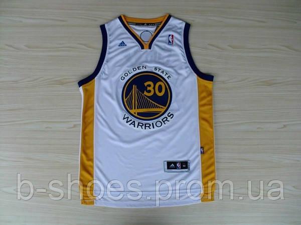 Мужская баскетбольная майка Golden state Warriors (Stephen Curry) White